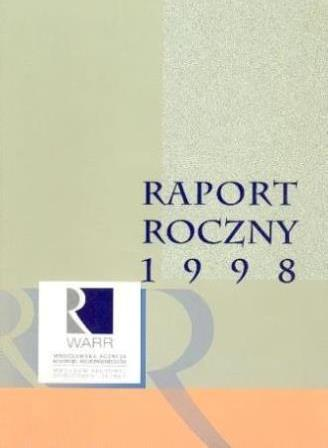 [Raport Roczny 1998 | Annual Report 1998]